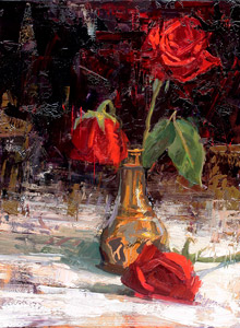 Jerry Markham roses painting